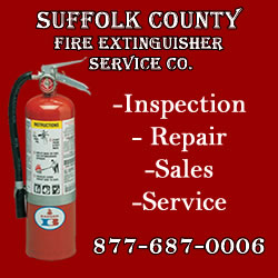 Suffolk County Fire Extinguisher Service Inspection Repair